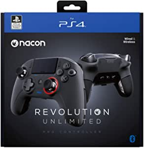 NACON 控制器 Esports Revolution Unlimited Pro V3 PS4 Playstation 4 / PC - 无线/有线 - Nacon-311608