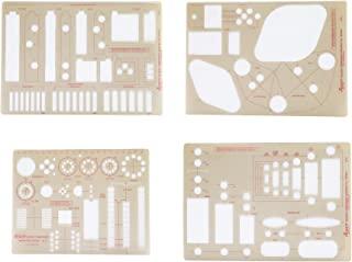 Pickett Design Component Master 模板,每套 4 个模板,每套 1 套 (1618I)