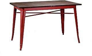 vacchetti Josef 8031890000 桌子 Bristol 金属 红色 120 × 70 × 76 厘米
