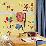 RoomMates 小熊维尼和朋友即剥即贴墙贴 - RMK1498SCS