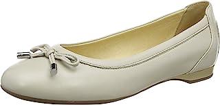 GEOX 女式 D lamulay D 芭蕾平底鞋