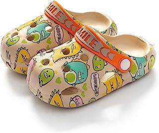 ETERNITY J. 儿童洞洞拖鞋 动物花园 一脚蹬水鞋 儿童拖鞋 沙滩 泳池淋浴拖鞋 拖鞋 适合幼儿男孩女孩
