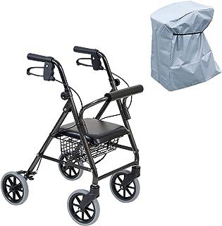 竹虎 步行车 快乐迷你托盘 深灰色金属 多功能防雨罩套装