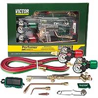 0384-2125 Victor Performer 手电筒套装,带调节器和无檐小便帽 0384-2125