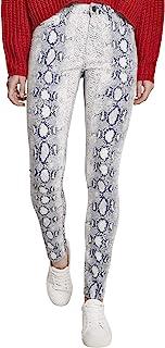 Urban Classics 女士女士动物弹力斜纹紧身裤裤