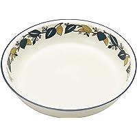 玉樹 MIKASA 咖喱&意大利面盘 烤盘 白色 直径22×高4.6厘米 450毫升 适用于微波炉、洗碗机、烤箱 T-7…
