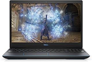 Dell 戴尔 G3 15.6 英寸 FHD 120Hz 250 尼特 WVA LED 背光窄边框显示屏游戏笔记本电脑,英特尔酷睿 i7-10750H,8 GB 内存,512 GB 固态硬盘,NVIDIA GeForce GTX 1660Ti ...