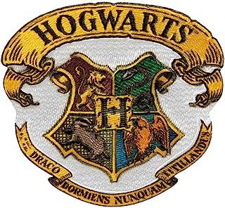 Mono Quick Harry Potter Hogwarts - Parche termoadhesivo, diseño de Gryffindor Slytherin Hufflepuff Ravenclaw 18069 - Hogwarts