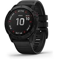Garmin 佳明 fēnix 6X Pro,Ultimate多功能GPS运动手表,带有地图,音乐,级别可调整的步速监测…