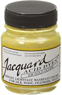 Jacquard Acid Dyes 覆盖 多种颜色 金色 Ochre 102857