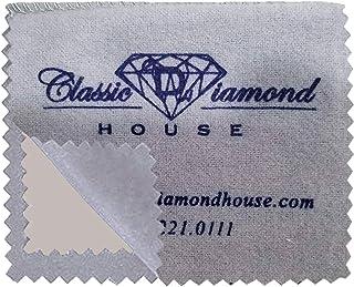 珠宝抛光布,用于清洁、闪亮和保护金色、银和铂金