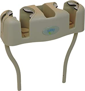 Cupsy 沙发和沙发扶手椅饮料整理器和回垫饮料盒带可拆卸支脚 – 多种颜色 沙滩沙子 Cupsy