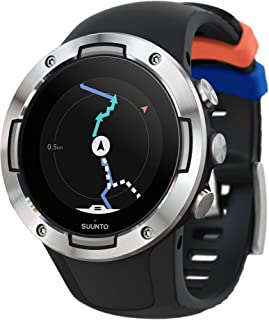 Suunto 5, Lightweight and Compact GPS Sports Watch with 24/7, Activity Tracking and Wrist-Based Heart Rate
