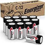 Energizer C-Cell 自动 黑色 12份 12