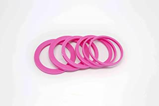 DeColorDulce sg1618 橡皮筋滚筒大号,粉色,6 x 4 x 1厘米
