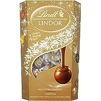 Lindt Lindor 瑞士蓮 什錦巧克力松露盒 - 約 48 個球,600 克 - 各種牛奶,白色,超黑和榛子巧克力…