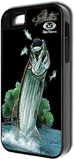 适用于 iPhone 5/5s/5c 的飞渔夫手机壳 - 零售包装 - Jason Mathias Tarpon
