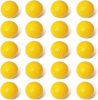 MANSHU 20 只装练习高尔夫球,柔软泡沫高尔夫球,适合室内室外后院训练
