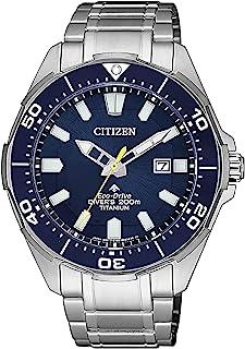 CITIZEN 西铁城 男士指针石英手表 钛表带 BN0201-88L