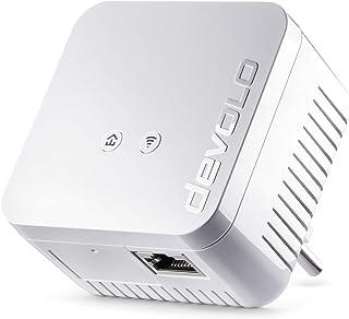 devolo dLAN 550 WiFi 电力线(通过插座进行互联网,WLAN,1 x LAN 端口,1 x Powerlan 适配器,PLC 网络适配器,WLAN 改进,Wifi Booster,Wifi Move)白色