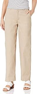 Classroom School Uniforms 女士青少年弹力无褶长裤