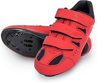 Hiland 公路自行车鞋锁踏板自行车鞋防滑自行车 Ciclismo 鞋兼容 SPD 防滑鞋