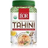 Lior Organic Tahini 100% Pure Sesame, 16 Ounce
