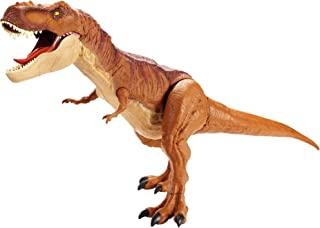 Mattel FMM63 侏罗纪世界恐龙玩具 巨型霸王龙手办,约90cm