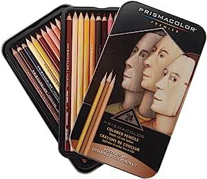Sanford Prismacolor Premier 25085R 彩色铅笔,人像套装,软芯,24支
