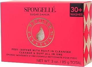 Spongellé Pedi-Buffer - 清洁、去角质和抛光* - Sugar Dahlia