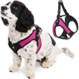 Gooby 04602-HPNK-M Easy Fit Padded Step In Dog Harness for S…