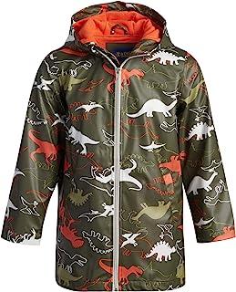iXtreme 幼儿男童夹克 - 轻质防水连帽雨衣