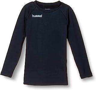 Hummel 打底衫 长袖 保暖圆领打底衫 男孩