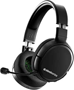 SteelSeries 赛睿 Arctis 1 无线适用于 Xbox – 无线游戏耳机 – USB-C 无线 – 可拆卸透明麦克风 – 适用于 Xbox、PS4、Nintendo Switch、Android(Xbox One)