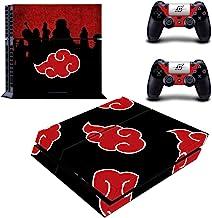 贴花 Moments 常规 PS4 控制台控制器乙烯基皮肤贴花贴纸 适用于Playstaion 4 红云