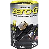 "zero-G 轻质、超柔、耐用、无铅花园软管,1.59 x 2.54 厘米 5/8"" x 25' 银色 4001-25"