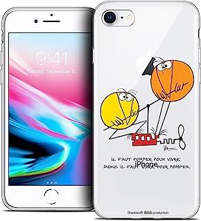苹果 iPhone 5/5s/SE 手机壳 [官方*收藏家 Les Shadoks® 设计] 超薄柔软法国印花CPRNTSKIPHONEXPOMPING  Apple iPhone X (10) Vivre Pour Pomper