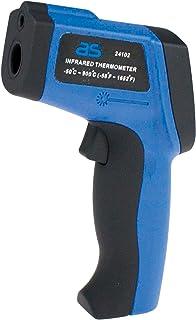 AS - Schwabe 24102 专业红外温度计/气压计,非接触温度测量,从 -50 到 900 摄氏度,1件装,蓝色