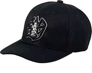 Bad Boy Snapback Dad Hat 运动户外可调节棒球帽刺绣黑白色