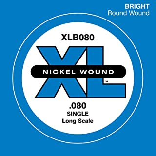 D'Addario XLB080 长比例电贝斯琴弦