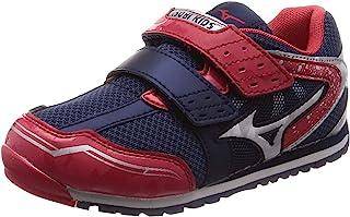 [Mizuno 美津浓] 儿童鞋 ASOBY 儿童 运动鞋 16~22厘米 运动鞋 男孩 女孩 上学 上幼儿园