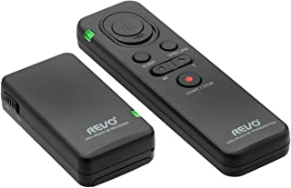 Revo VRS-Multi-W 无线多接口远程快门释放和相机控制,适用于索尼相机和摄像机 - 索尼数码相机遥控快门控制器适用于变焦、视频、照片等