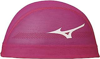 MIZUNO 美津浓 泳帽 游泳帽 竞技 网眼 20年秋冬款 男女通用 网眼帽 N2JW0507 粉色 尺码:M
