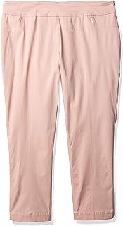 SLIM-SATION 女士加大码套头纯色及踝裤
