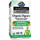 Garden of Life 生命花园 Dr. Formulated 咀嚼酶补充片 促进吸收,90 粒