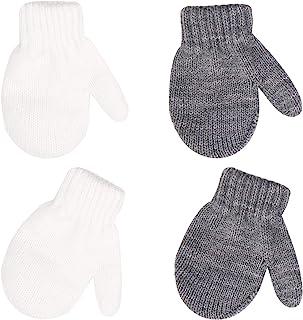 保暖连指手套男孩女孩针织手套儿童幼儿婴儿冬季手套