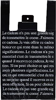 手提袋 收银袋 黑色法国 LL BFR-LL
