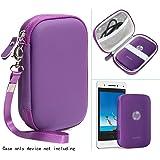 Passion 紫色便携式照片打印机保护套适用于 HP Sprocket 便携式照片打印机、Polaroid Snap…