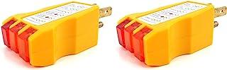 Elitexion 插座电路插座插座测试仪 - 2 件装