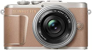 OLYMPUS 无反光镜单反相机 如有E-PL10 14-42mm EZ镜头套装 棕色